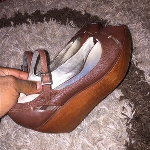 bcbg maxazria wood Wedges